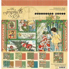 Papier scrapbooking Graphic 45 Christmas Magic
