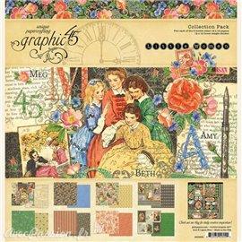 Papier scrapbooking Graphic 45 Little Women