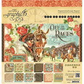 Papier scrapbooking Graphic 45 Off to the Races