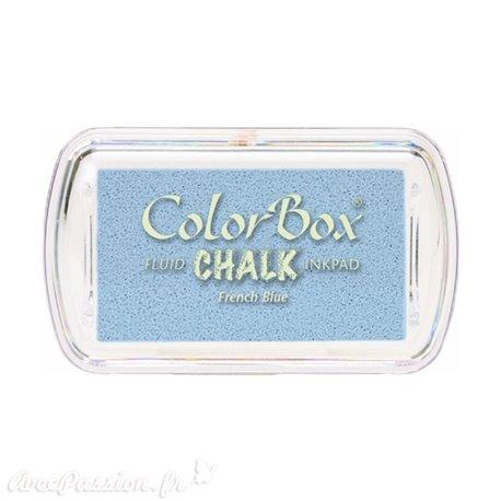 Encreur tampon Chalk mini french blue