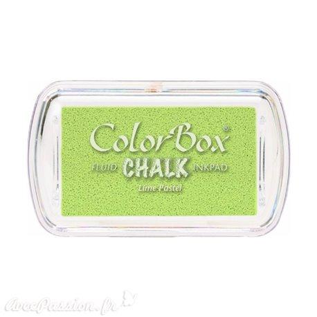 Encreur tampon Chalk mini lime pastel