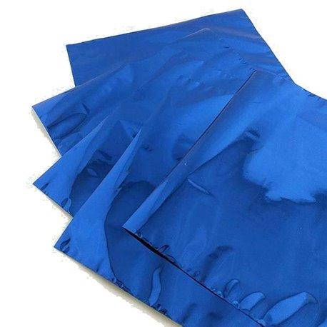 Foil Transfert métallisé pour scrapbooking bleu
