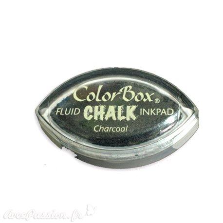 Encreur tampon Chalk oeil de chat charcoal noir