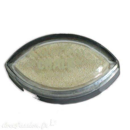 Encreur tampon Chalk oeil de chat alabaster crème