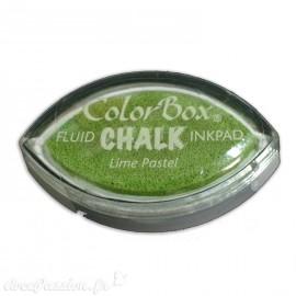 Encreur tampon Chalk lime pastel vert