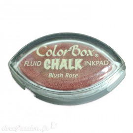 Encreur tampon Chalk oeil de chat blush rose