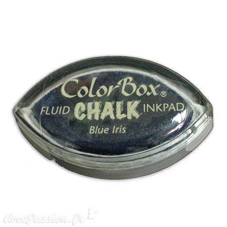 Encreur tampon Chalk blue iris