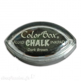 Encreur tampon Chalk oeil de chat dark brown
