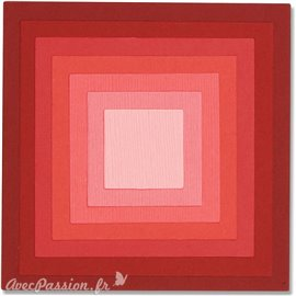 Dies Sizzix de découpe 8 cadres carrés Framelits set