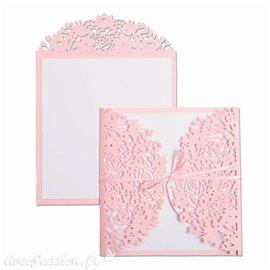Dies Sizzix de découpe enveloppes et cartes fleurs set 2pcs Thinlits