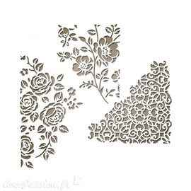 Dies Sizzix de découpe Tim Holtz fleurs thinlits set 5pcs mixed media 5
