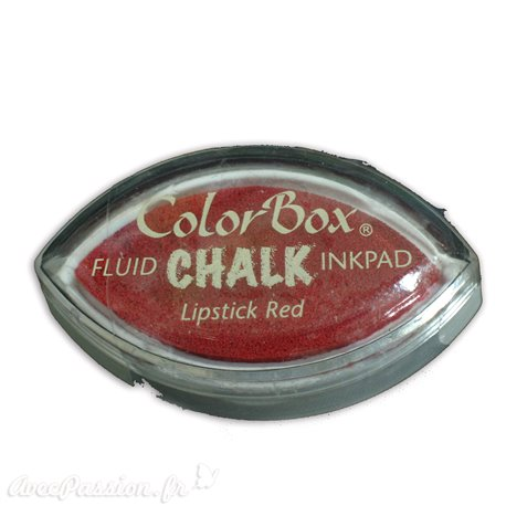 Encreur tampon Chalk oeil de chat lipstick red
