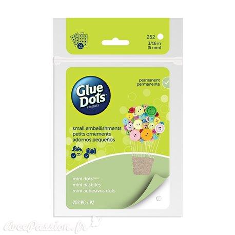 Glue Dots 252 Mini dots 5mm en plaque
