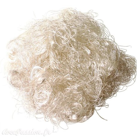 Cheveux d'ange artificiel argent brillant Noel 10g
