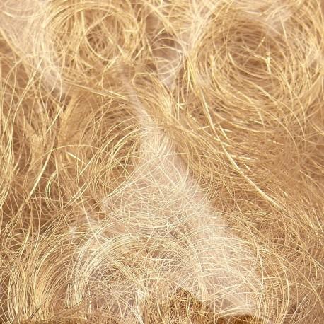 Cheveux d'ange artificiel doré brillant Noël 50g