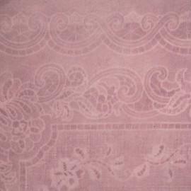 Papier fantaisie batik dentelle rose