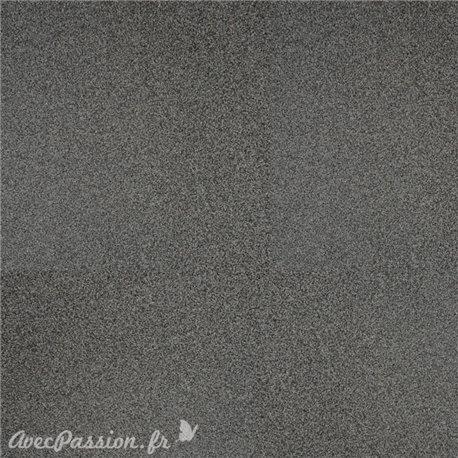 Papier scrapbooking paillettes gris acier 30x30