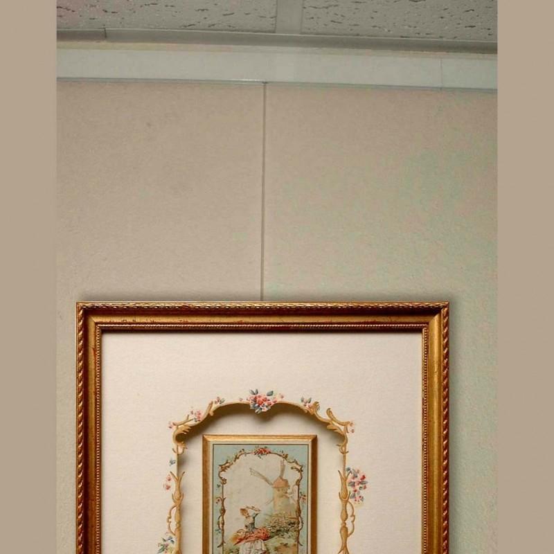 Rail cimaise d 39 encadrement perlon blanc achat vente for Materiel encadrement tableaux