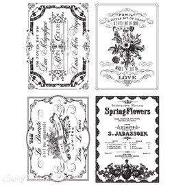 Transfert pelliculable Redesign Prima marketing décor Spring Flowers