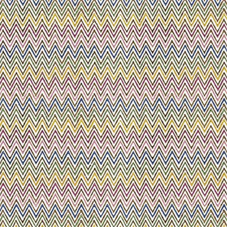 Papier tassotti à motifs zigzag