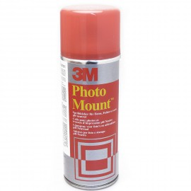 Colle en bombe photo mount rouge 3M
