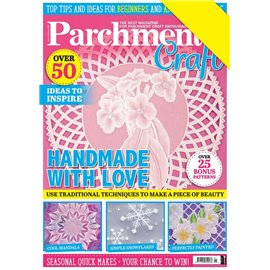 Parchment Craft magazine Pergamano janvier/février 2020 Handmade with Love