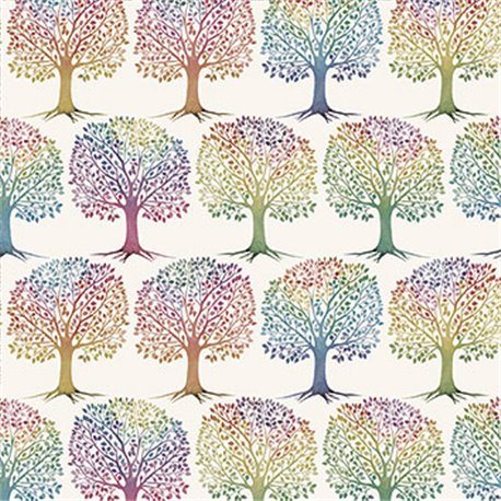 Papier tassotti à motifs arbre de la vie