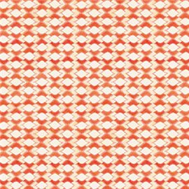 Papier tassotti à motifs drop orange