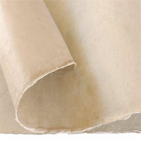 Papier népalais lokta lamaLi gris clair