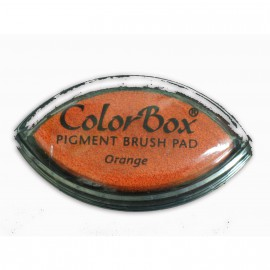 Encreur tampon Color Box oeil de chat orange