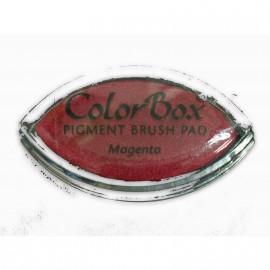Encreur tampon Color Box oeil de chat magenta