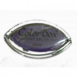 Encreur tampon Color Box oeil de chat violet