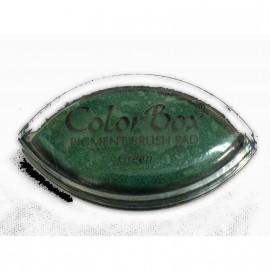 Encreur tampon Color Box oeil de chat green