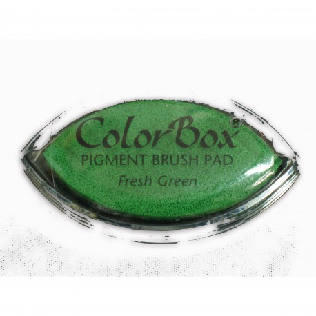 Encreur tampon Color Box oeil de chat fresh green