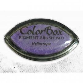 Encreur tampon Color Box oeil de chat heliotrope violet