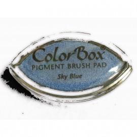 Encreur tampon Color Box oeil de chat sky blue