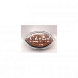 Encreur tampon Color Box oeil de chat cocoa