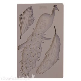 Moule Prima ReDesign en silicone flexible Regal Peacock
