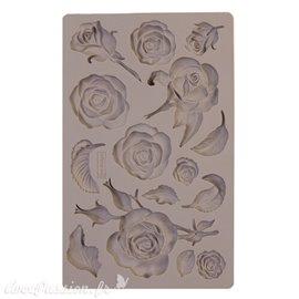 Moule Prima ReDesign en silicone flexible Fragant Roses