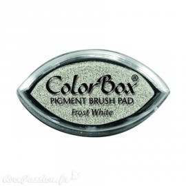 Encreur tampon Color Box oeil de chat frost white