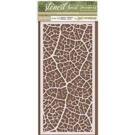 Pochoir décoratif Stamperia feuille de chêne