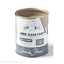 Peinture Chalk Paint Annie Sloan French Linen 1L