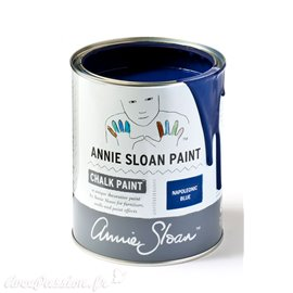 Peinture Chalk Paint Annie Sloan Napoleonic Blue 1L ---