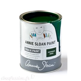 Peinture Chalk Paint Annie Sloan Amsterdam Green 1L