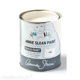Peinture Chalk Paint Annie Sloan Pure White 1L