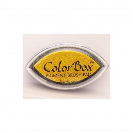 Encreur tampon Color Box oeil de chat sunflower