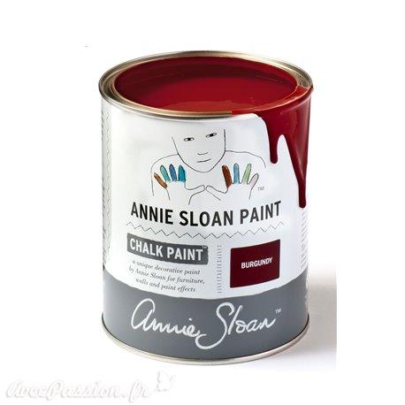 Peinture Chalk Paint Annie Sloan Burgundy 1L