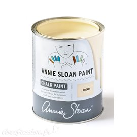 Peinture Chalk Paint Annie Sloan Cream 1L