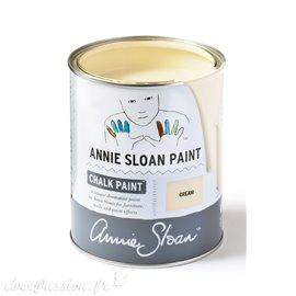 Peinture Chalk Paint Annie Sloan Cream 1L