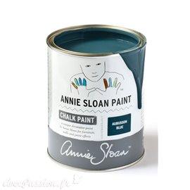 Peinture Chalk Paint Annie Sloan Aubusson Blue 1L